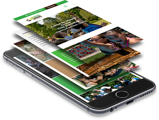 Mobile website design and development