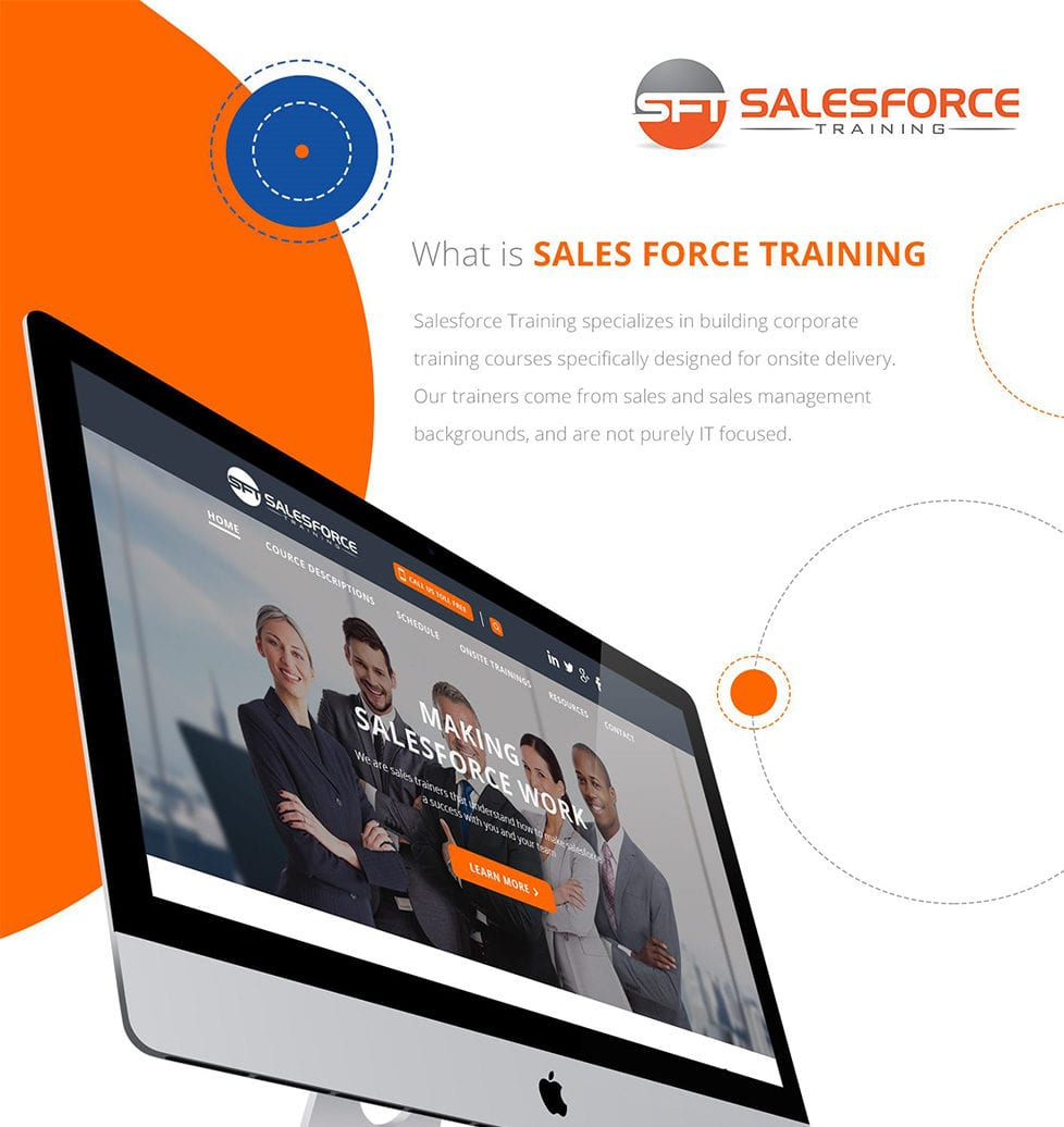 SALES FORCE TRAINING WEB DESIGN, SOCIAL MEDIA AND CRO