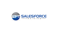 Salesforce Training logo design