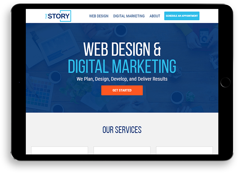 About The Story Web Design & Marketing