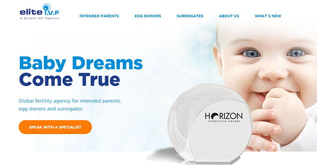 Elite IVF Website Design
