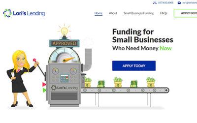 Feature Web Design Project – Lori's Lending