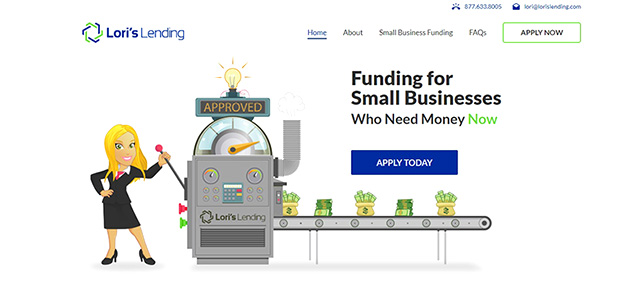 Feature Web Design Project – Lori's Lending