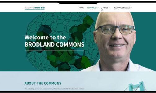 Wayne Brodland Website