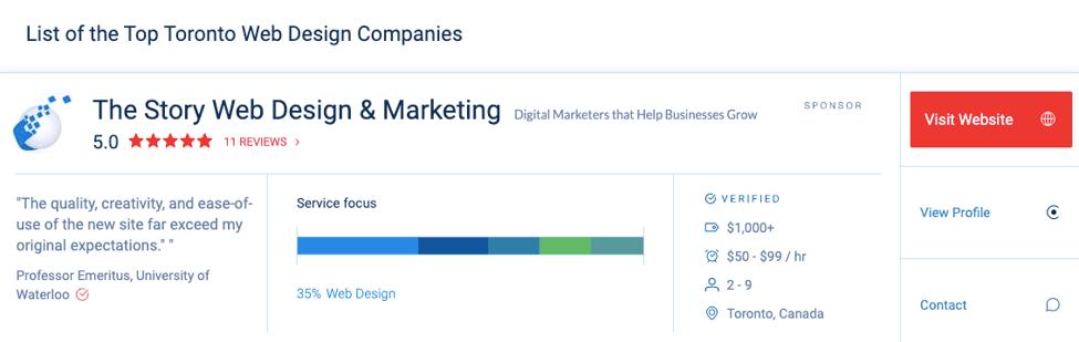 Top Toronto Web Design Companies