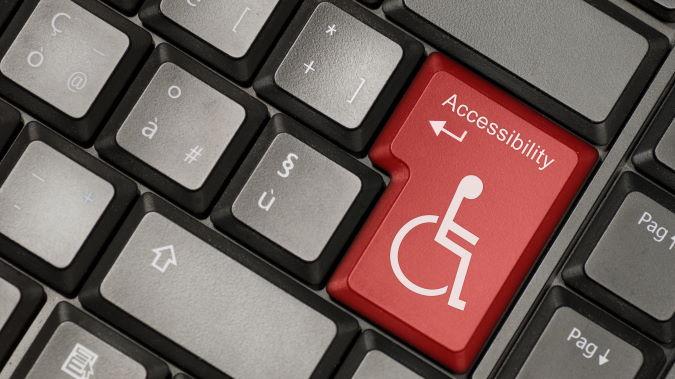 AODA Compliant Web Development - Accessibilty Key on Keyboard